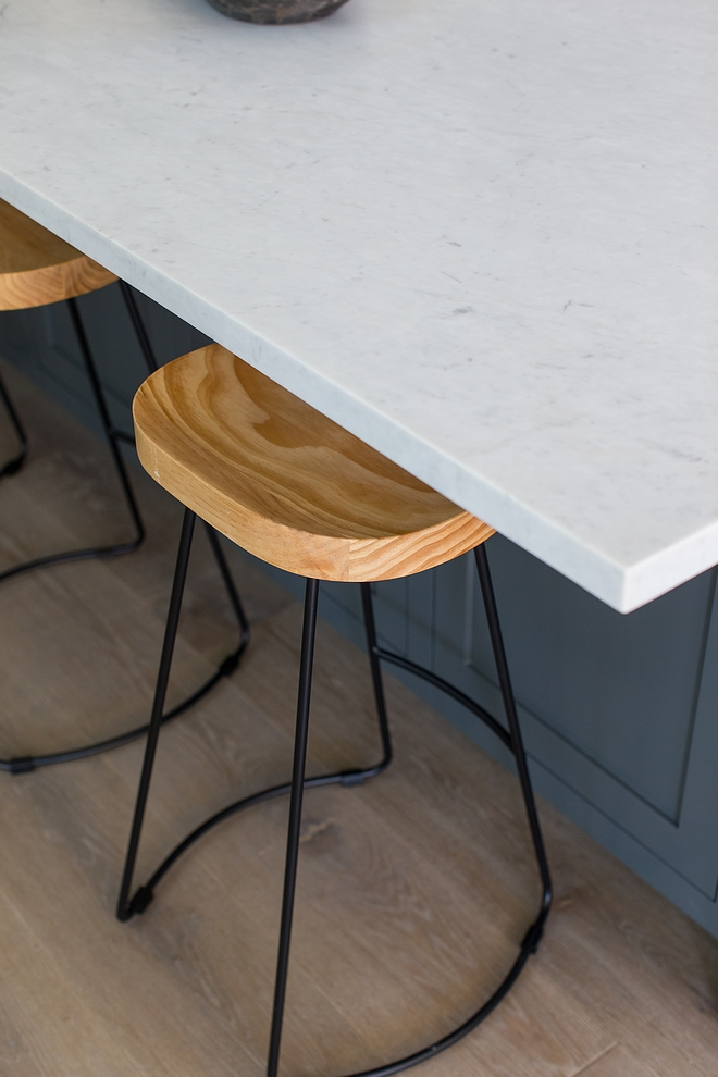 Countertop is Honed Carrera Marble Kitchen island and kitchen perimeter countertop is Honed Carrera Marble #kitchencountertop #islandcountertop #perimetercountertop #Countertop #HonedCarreraMarble #CarreraMarble