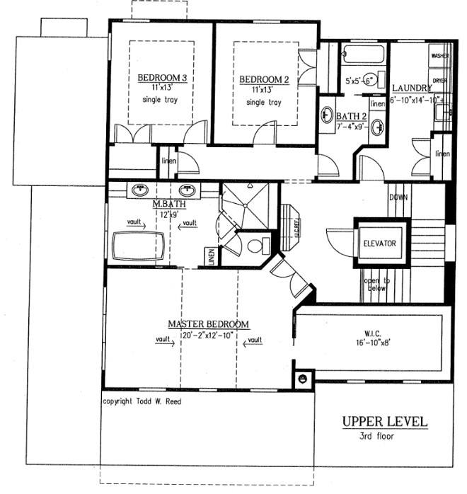 Upper Floor Floor Plan Floor Plan - Upper Level