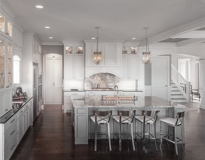 Traditional white kitchen with grey island Traditional white kitchen with grey island design Traditional white kitchen with grey island pictures Traditional white kitchen with grey island layout Traditional white kitchen with grey island #Traditionalwhitekitchengreyisland