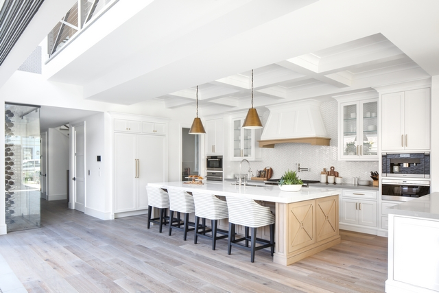 """Hardwood flooring The flooring is an 8"""" light rustic white oak floor with a custom stain applied after installation #Hardwoodflooring #flooring #rusticwhiteoak"""