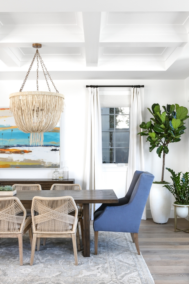 Host dining chairs Coastal dining room with blue wingback Host dining chairs Host dining chair Ideas #Hostdiningchairs #Bluediningchairs #wingbackdiningchairs