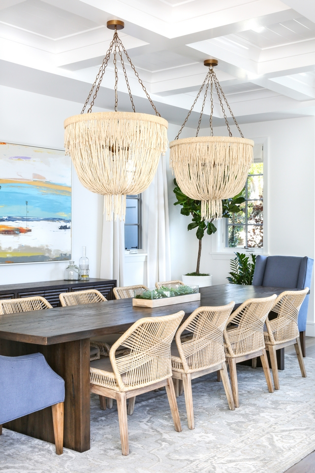 woven rope side dining chairs Woven rope dining chair ideas Dining room with woven rope side dining chairs Woven rope dining chair ideas #wovenropediningchair #sidediningchairs #Wovendiningchair #ropediningchair