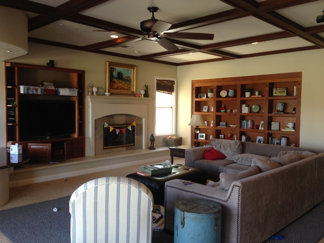 Before Family Room See more the after on Home Bunch blog Before Family Room Renovation