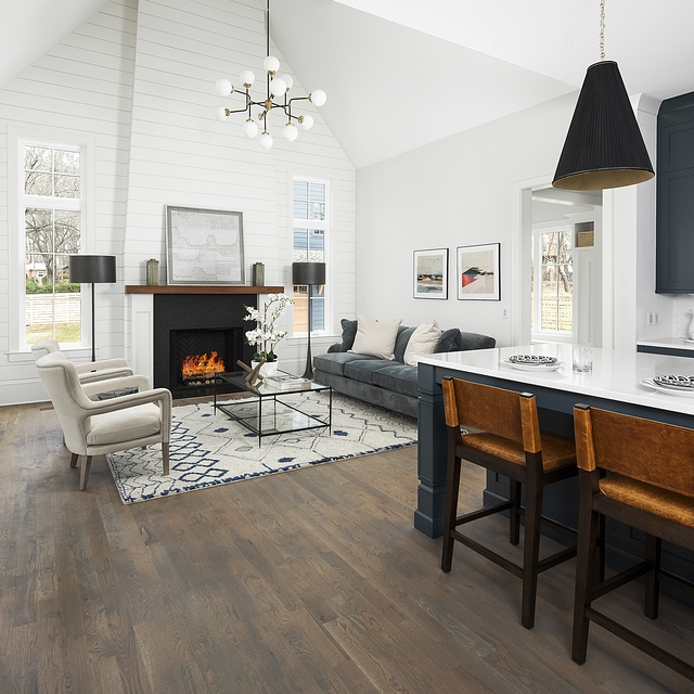 "Low sheen hardwood flooring The floors are 3.25"" White Oak site finished with an eco-friendly durable finish called Rubio Monocoat. The name of the finish is Havana Low sheen hardwood flooring #Lowsheenhardwoodflooring"
