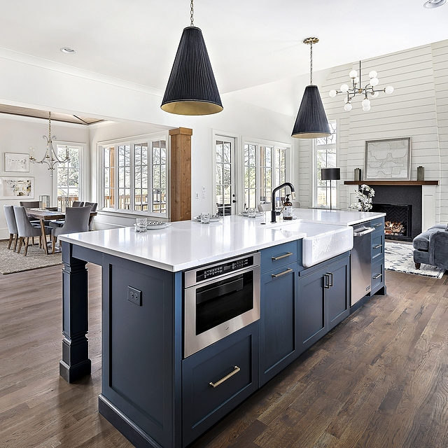 Lead Gray by Benjamin Moore Dark Navy Kitchen island paint color Lead Gray by Benjamin Moore Kitchen Cabinet Paint Color Blue Navy Dark Blue Navy Blue Lead Gray by Benjamin Moore Dark Navy Kitchen island paint color Lead Gray by Benjamin Moore #LeadGraybyBenjaminMoore #Darkcabinet #NavyKitchenislandpaintcolor #BenjaminMoore