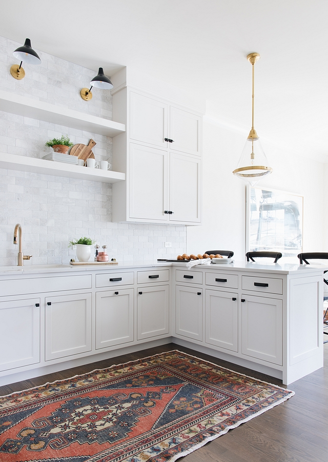 Classic Grey by Benjamin Moore Kitchen Cabinetry is painted in Classic Grey by Benjamin Moore which reads as an off-white Classic Grey by Benjamin Moore Classic Grey by Benjamin Moore #ClassicGreyBenjaminMoore #ClassicGrey #BenjaminMoore