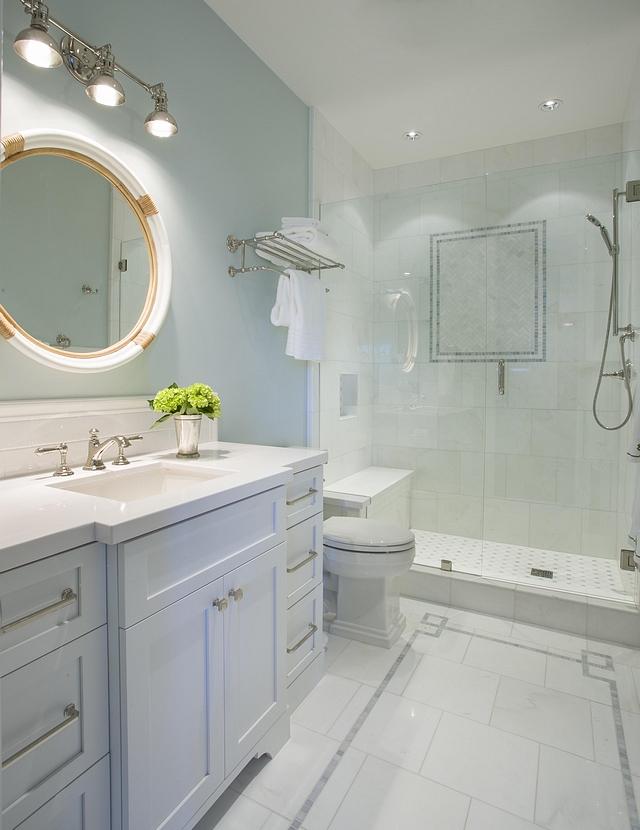 Benjamin Moore Wedgewood Gray Bathroom Paint Color Benjamin Moore Wedgewood Gray Benjamin Moore Wedgewood Gray #BenjaminMooreWedgewoodGray #PaintColor #BenjaminMoore
