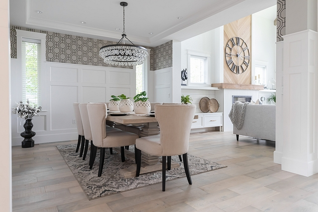 Dining Room Wainscoting Sherwin Williams Pure White Best paint colors for wainscoting Dining Room Wainscoting Sherwin Williams Pure White #Wainscoting #SherwinWilliamsPureWhite #Wainscotingpaintcolor #diningroomwainscoting #SherwinWilliams #PureWhite