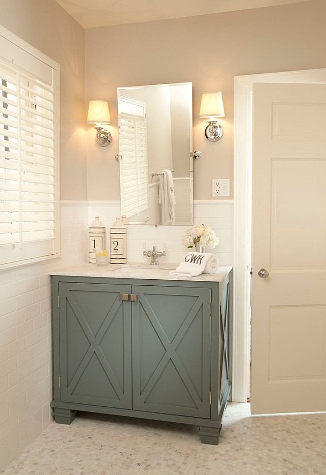 Good Colors For Bathroom Cabinets