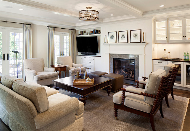 Family Room Layout Ideas