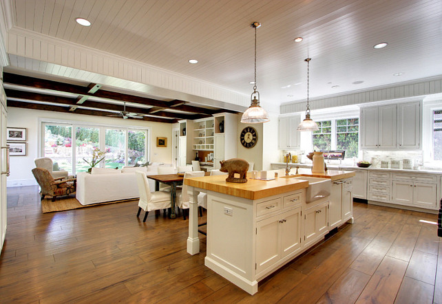 Family And Room Concepts Open Decoration Kitchen