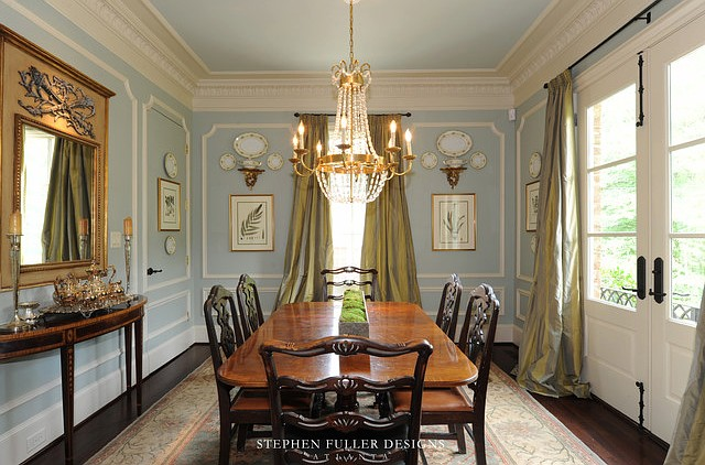 Georgian Architecture   Home Bunch Interior Design Ideas Dining Room