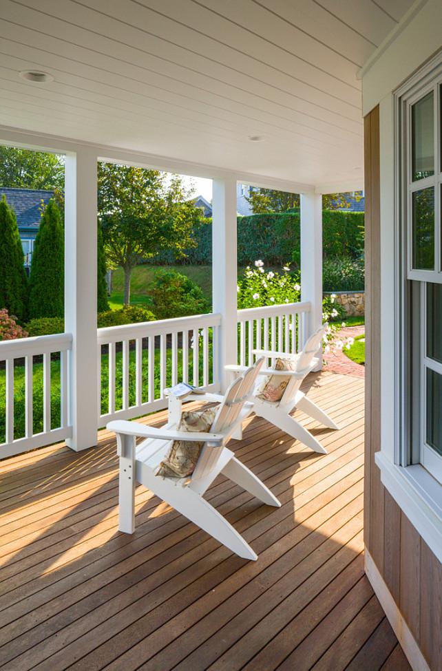 Cape Cod Shingle Beach House With Coastal Interiors Home