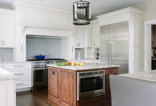after double island kitchen renovation