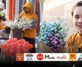 แม่ค้าขายดอกไม้  ระบุปีนี้คนซื้อดอกไม้ในวันแห่งความรักน้อยลง
