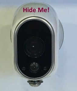 How to Hide an Arlo Home Security Camera