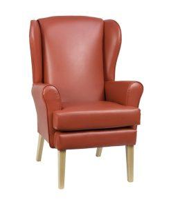 Alisson Orthopedic high seat chair, www.homecarechairs.co.uk , high seat chairs, Fireside Chairs, high back chairs, wingback chair, elderly chairs.
