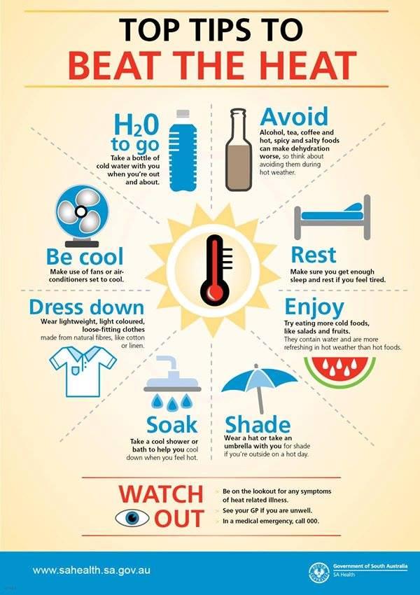 Image result for heat wave safety tips