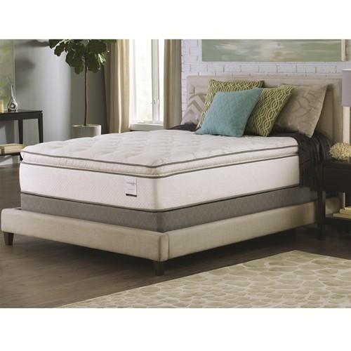 bali pillow top california king size mattress 15 inch by coaster 350027kw