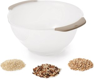 oxo good grips rice and quinoa washing colander
