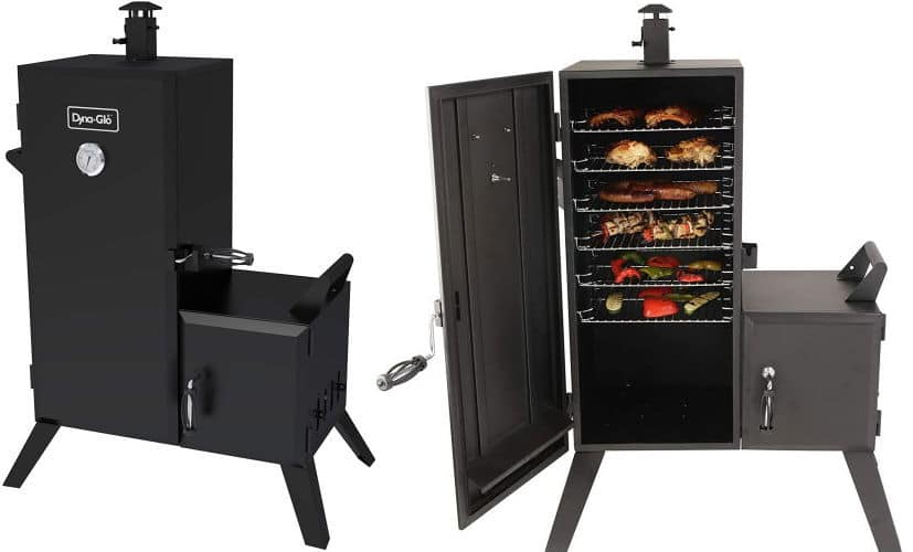 Dyna-Glo-Vertical-Offset- Charcoal grill