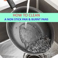 How to clean a nonstick pan