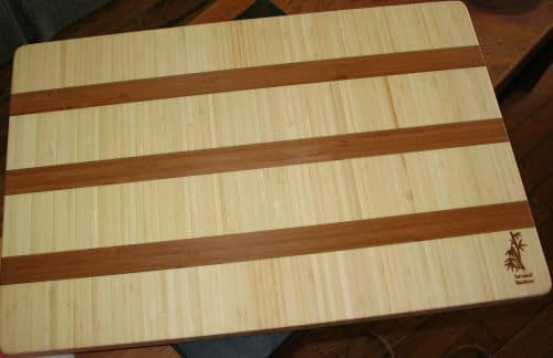Bamboo material for cutting boards