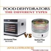 The Different Types of Food Dehydrators - [Vertical VS Horizontal Flow]