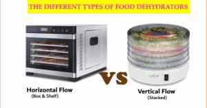 Types of food dehydrators
