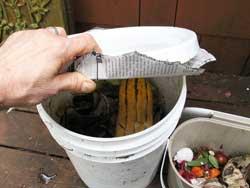 food bucket paper lid