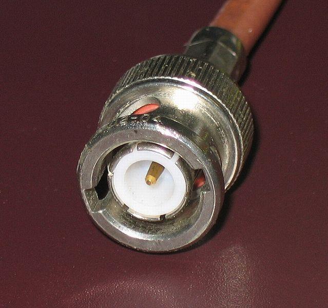 CCTV BNC Connector