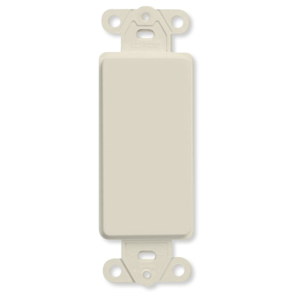 Image Of Decor Style Insert White Reversable Cable P Through Wallplate