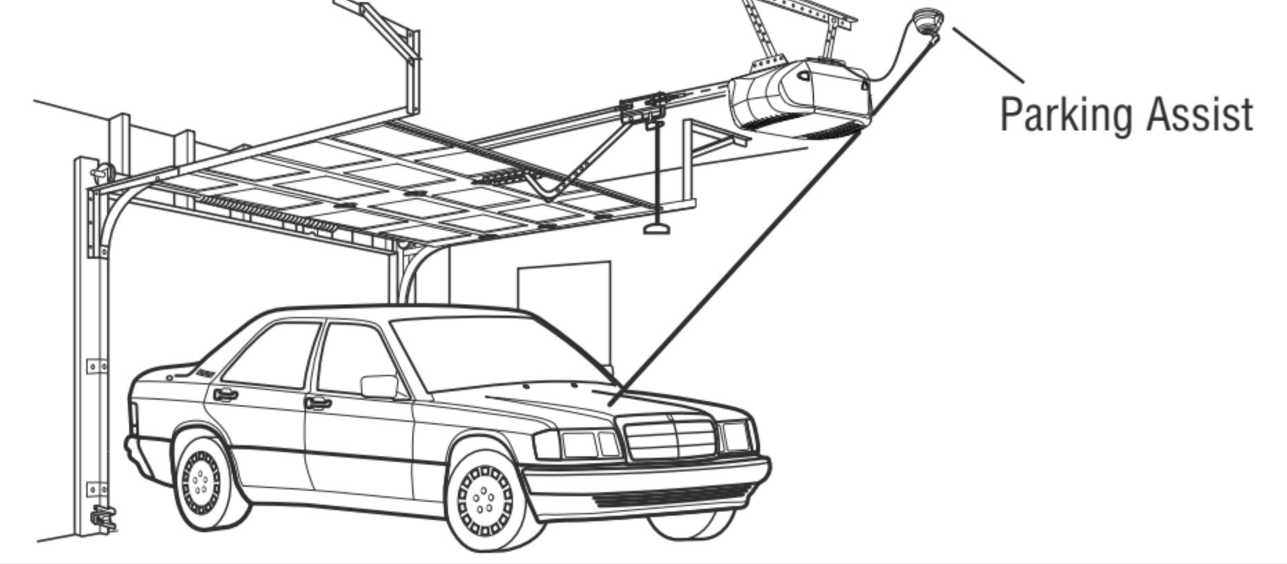 Chamberlain Garage Laser Parking Assist