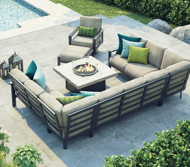 outdoor patio furniture elements