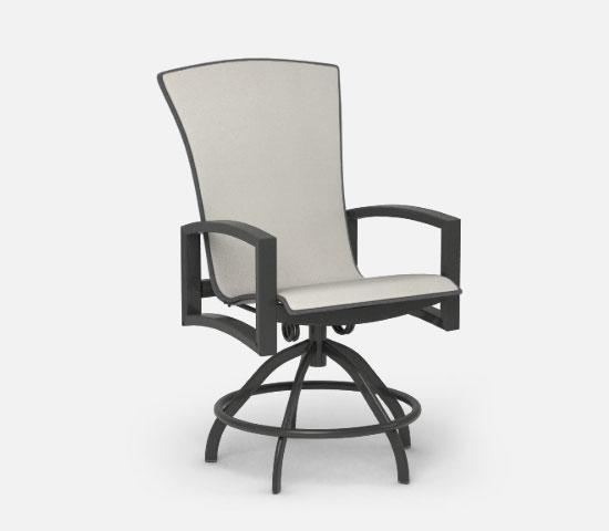 swivel rocker balcony stool