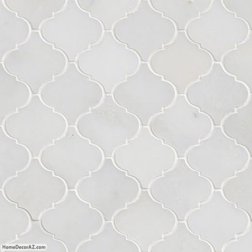 MSI Stone Greecian White Arabesque Mosaic Backsplash GRE