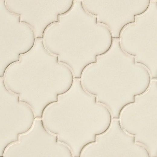 msi highland park antique white arabesque tile backsplash smot pt aw arabesq