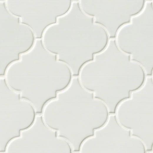 msi highland whisper white arabesque tile backsplash pt ww arabesq