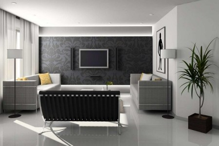 Living Room Design Trends 2018   Home Decor Buzz Black white grey living room interior decorating ideas