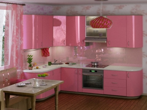 Pink Kitchen Designs Decorating Ideas Photos Home