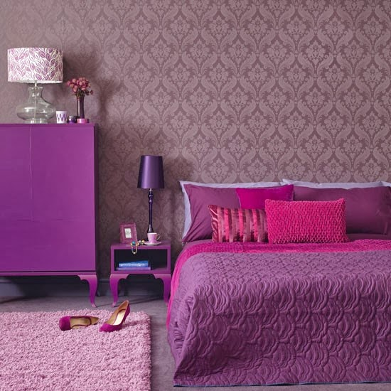 Modern Damsak Wallpaper Patterns