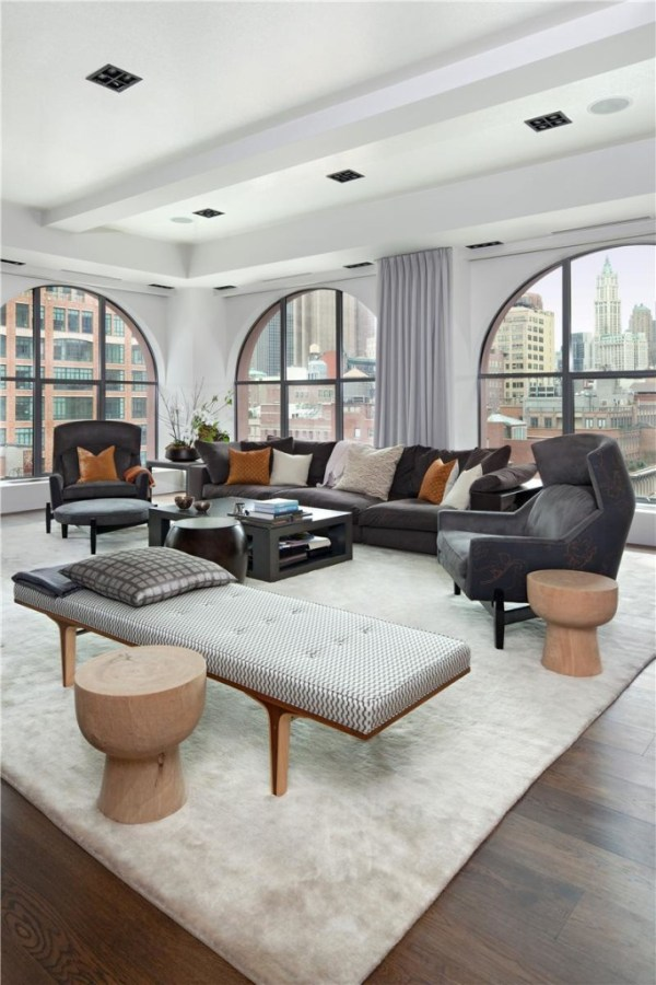 Stylish Laconic And Functional New York Loft Style: Arch Design