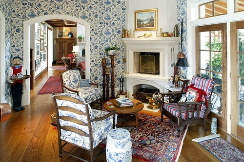 Country House Bruges Traditional Living Room Home Interior Decor