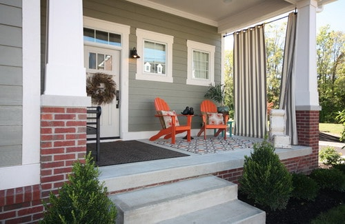 Small Elegant House Inspire Porch Decorating Ideas Creating A Fabulous E Amazing Gallery