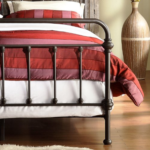 Weston Home Nottingham Metal Spindle Bed Home Decoration