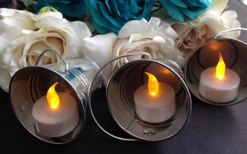 12 Flameless Battery Operated Tealight Candles These Are