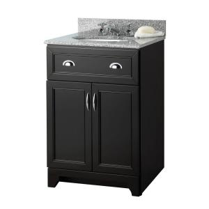 Foremost Denman 24 in. Vanity Cabinet Only in Espresso