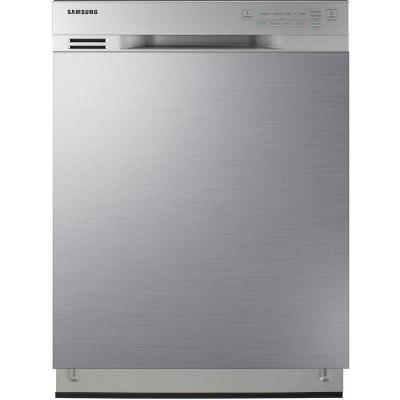 Samsung 24 in. Front Control Dishwasher in Stainless Steel with Stainless Steel Tub