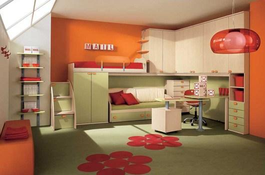 children bedroom contemporary