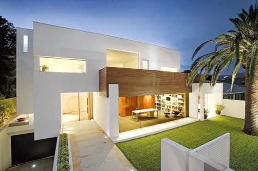 contemporary private mansion 1 architecture